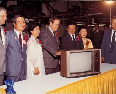 LG그룹 '글로벌' 선구자…컬러TV 美 공장 최초 설립