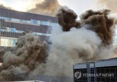 '화재' 일산 여성병원, 잠정 폐쇄…산모·신생아 등 170명 이송(종합)