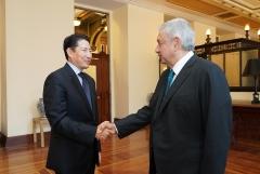 조현준 효성 회장-오브라도르 멕시코 대통령, 야구로 통했다