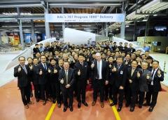 대한항공, 보잉787 드림라이너 복합재 구조물 1000대 납품 달성