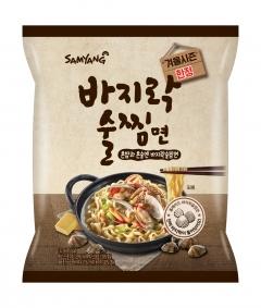 삼양식품, 바지락술찜면 출시