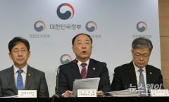 """홍남기 """"바이오 등 10개 산업영역 규제 원점에서 검토"""""""