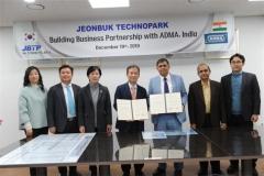 전북테크노파크, 인도 ADMA와 업무 협약 체결