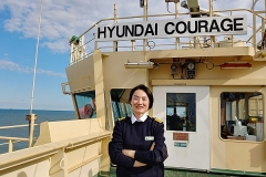 현대상선, 국적선사 첫 '女 선장' 탄생