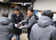 인제스피디움 윤재연·김춘수號, 연말 소외된 이웃돕기 나섰다