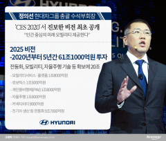 정의선의 미래車…모빌리티 대전환 '올인'