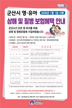 군산시, 전국 최초 ' 영·유아 상해·질병 보험 ' 가입