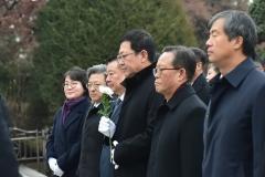 박남춘 인천시장, 경자년 새해맞이 현충탑 참배