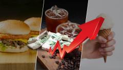 연말연초 또 가격인상 러시…커피·햄버거·콜라 도미노 인상