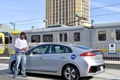 현대차, 美LA서 카셰어링 사업…택시·우버 비용의 5분의 1