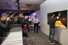 500여명 눈길 사로잡은 한종희 사장의 삼성전자 '마이크로 LED'