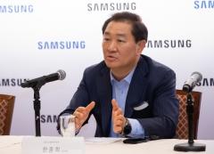"""한종희 삼성전자 사장의 '리얼 8K' 논란 우려…""""소비자 먼저 보자"""""""