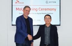 SKT-바이톤, '한국형 전기차' 출시 전방위 협력