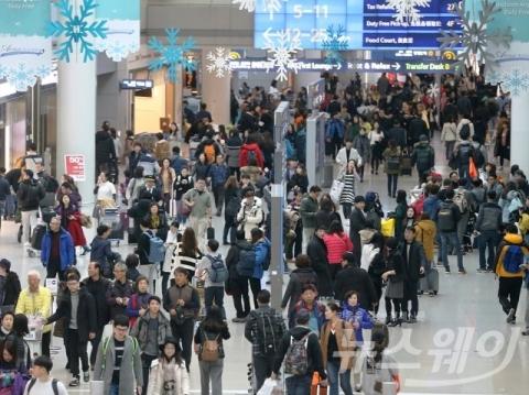 작년 국내 공항 이용객 1억5700만명…10년만에 2배 증가