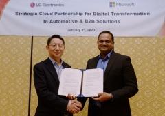 [CES 2020]LG전자, 자동차 전장에 마이크로소프트 '음성 인식' 이식