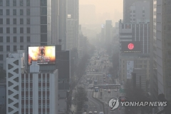 미세먼지 '나쁨'…전남 해안·제주 밤부터 비