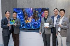 삼성전자, 8K TV·더 월 등 최고 제품상 휩쓸어