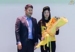 수원대, 최윤선 선수 여자프로농구단 KB 스타즈 입단