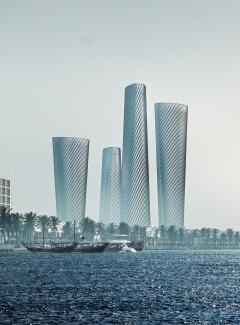 현대건설, 6093억원 규모 '루사일 플라자 타워 PLOT3' 수주