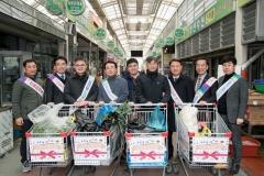 군산시, 설맞이 전통시장 장보기 군산사랑상품권 홍보 진행