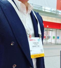 정용진, 세계 최대 리테일 전시회 'NRF' 참가