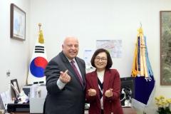 은수미 성남시장, '혁신 스마트도시 성장' 위한 논의 가져