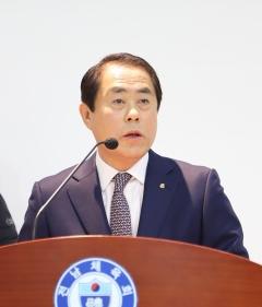 """김재무 전남체육회장 취임…""""전남체육 진흥 선언"""""""