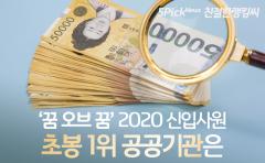 초임 연봉 4,500 이상 공공기관 라인업