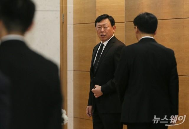 [NW포토]빈소 향하는 신동빈 회장