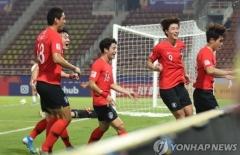 한국, 요르단에 2-1 역전승…오는 22일 호주와  4강