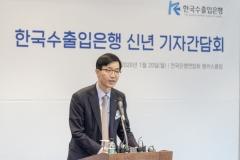 """방문규 수은 행장 """"조선업계에 원활한 자금공급 약속…'저가수주'는 안돼""""(종합)"""