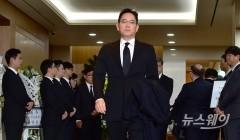 이재용 삼성 부회장, 재계 총수 중 첫 조문