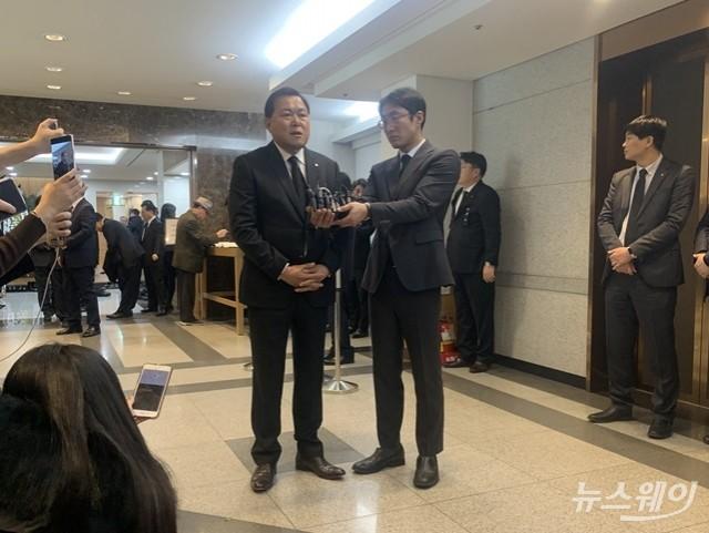 """황각규 """"고인, 창조와 도전·열정 가장 중시했다"""""""