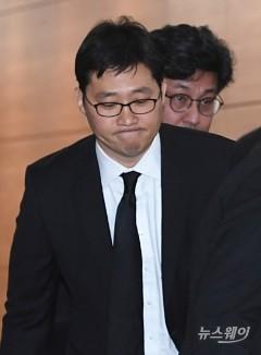 故 신격호 명예회장 조문 마치고 나서는  김범석 쿠팡 대표