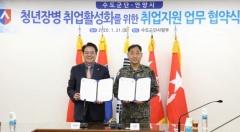 안양시·육군 수도군단, '청년장병 취업활성화' MOU 체결