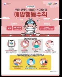 경북도, '우한 폐렴' 확산방지 비상대응체계 돌입