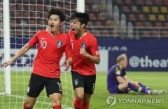 한국 축구, 호주에 2-0 승…올림픽 9회 연속 본선 진출