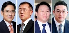4대 그룹 총수, 설 연휴도 '경영' 구상 몰두