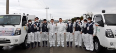 전남농협, 설 명절 대비 가축전염병 차단 특별방역