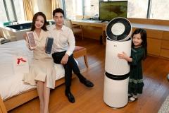 LG전자, 반야트리 호텔에 퓨리케어 공기청정기 설치