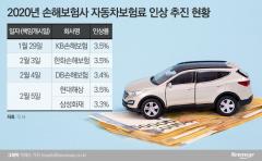 오늘(29일)부터 車보험료 최고 3.5% 인상