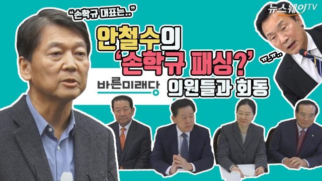 안철수의 '손학규 패싱?'…바른미래당 의원들과 회동