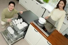 LG전자, 디오스 식기세척기 인기에 생산능력 2배 '쑥'