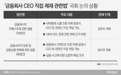 금융권 CEO 처벌 논란, 모호한 법적 근거가 문제다
