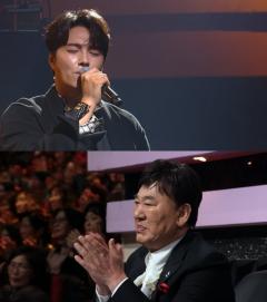 """'불후의 명곡'현철. 민우혁 무대에 오열…""""아내 생각나"""""""