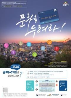 경기도, 2020 문화누리카드 발급…1인당 연간 9만원 지원