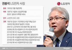 구광모 '히든카드' 권봉석 사장, LG전자 체질 개선 전권 쥔다