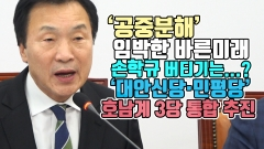 '공중분해' 임박한 바른미래, 손학규 버티기는...?…'대안신당·민평당' 호남계 3당 통합 추진