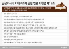 금감원-우리금융, 법적공방 예고…시행령 제19호가 뭐길래