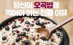 당신이 오곡밥을 먹어야 하는 진짜 이유